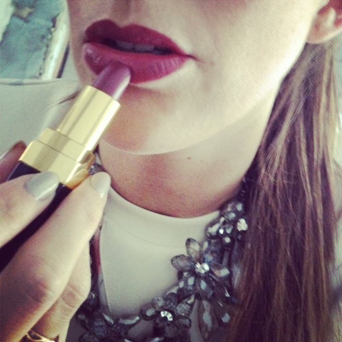 Purple Chanel Lipstick Lipstick ce Soir Chanel
